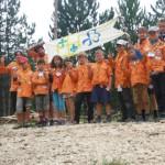ZORG et Nimoé  (camp louveteaux juillet 2015)
